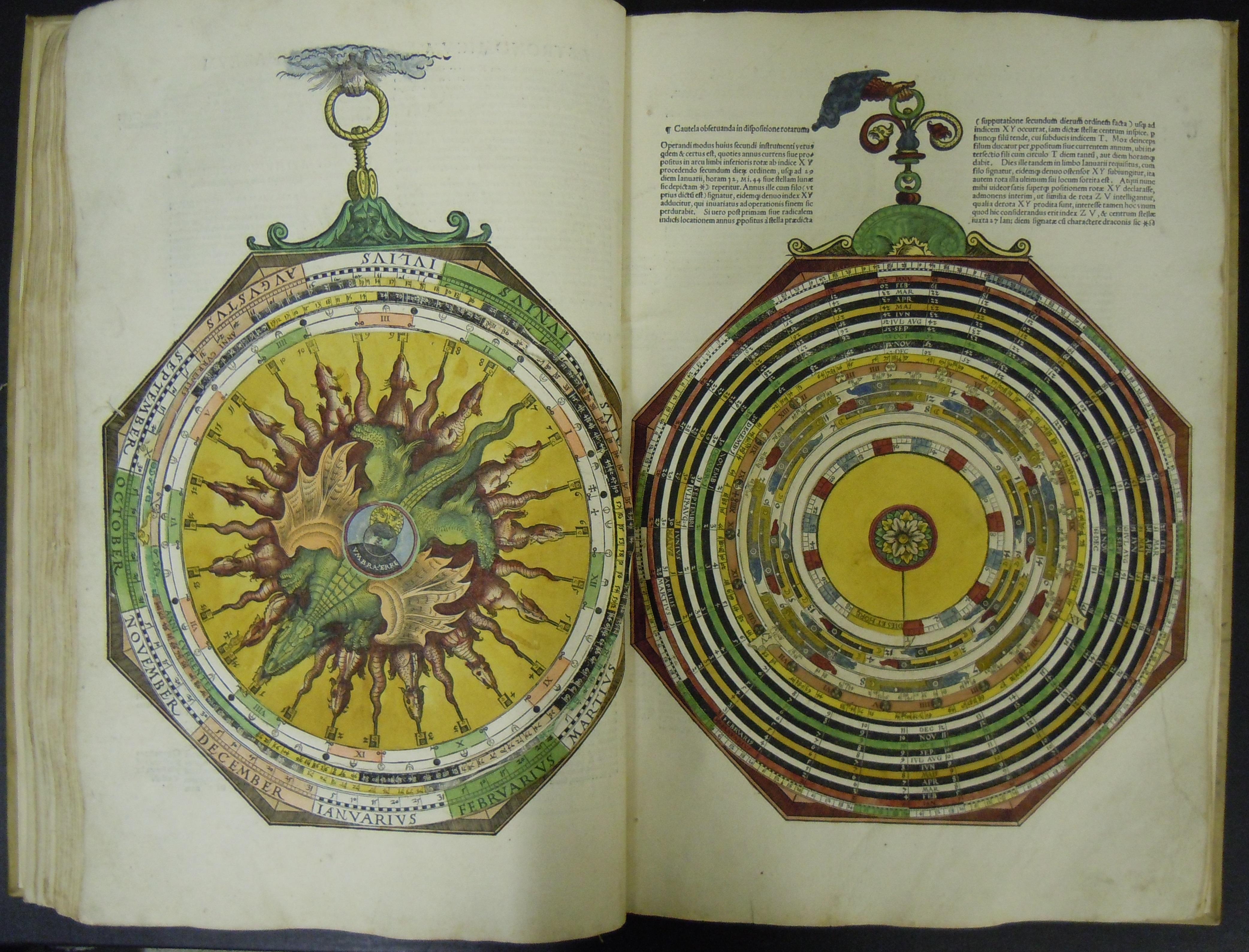 BT1.70.2, GIIIv-GIIIIr, Peter Apian's Astronomicum Caesareum, 1540